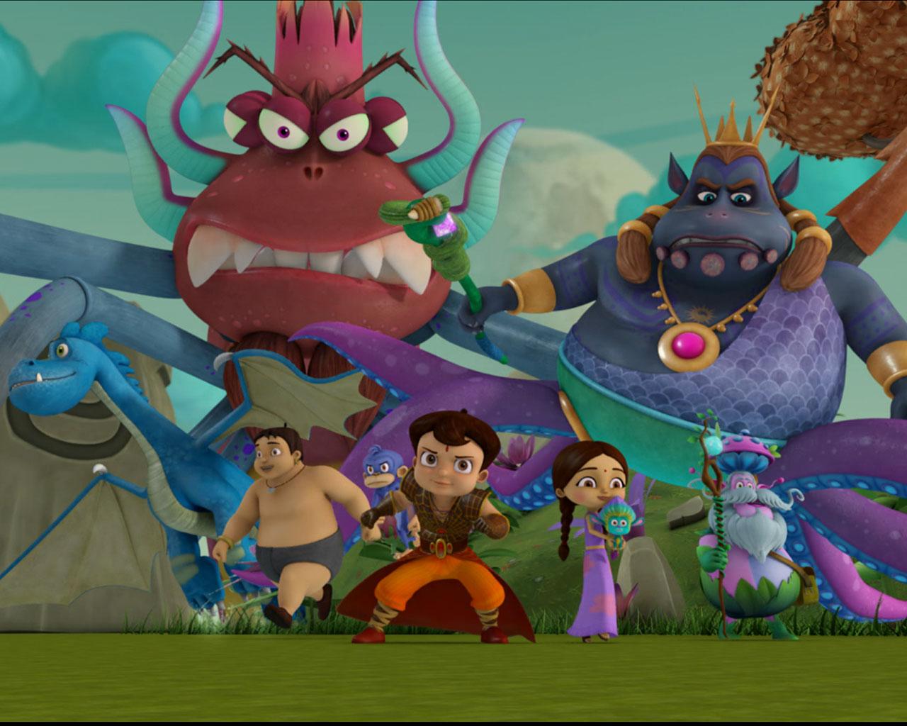 Super Bheem Gallery 3d Cartoon Animation 3d Images