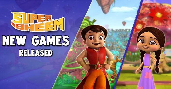 Super Hero Super Bheem Adventure Games | Play Free Online Games for Kids