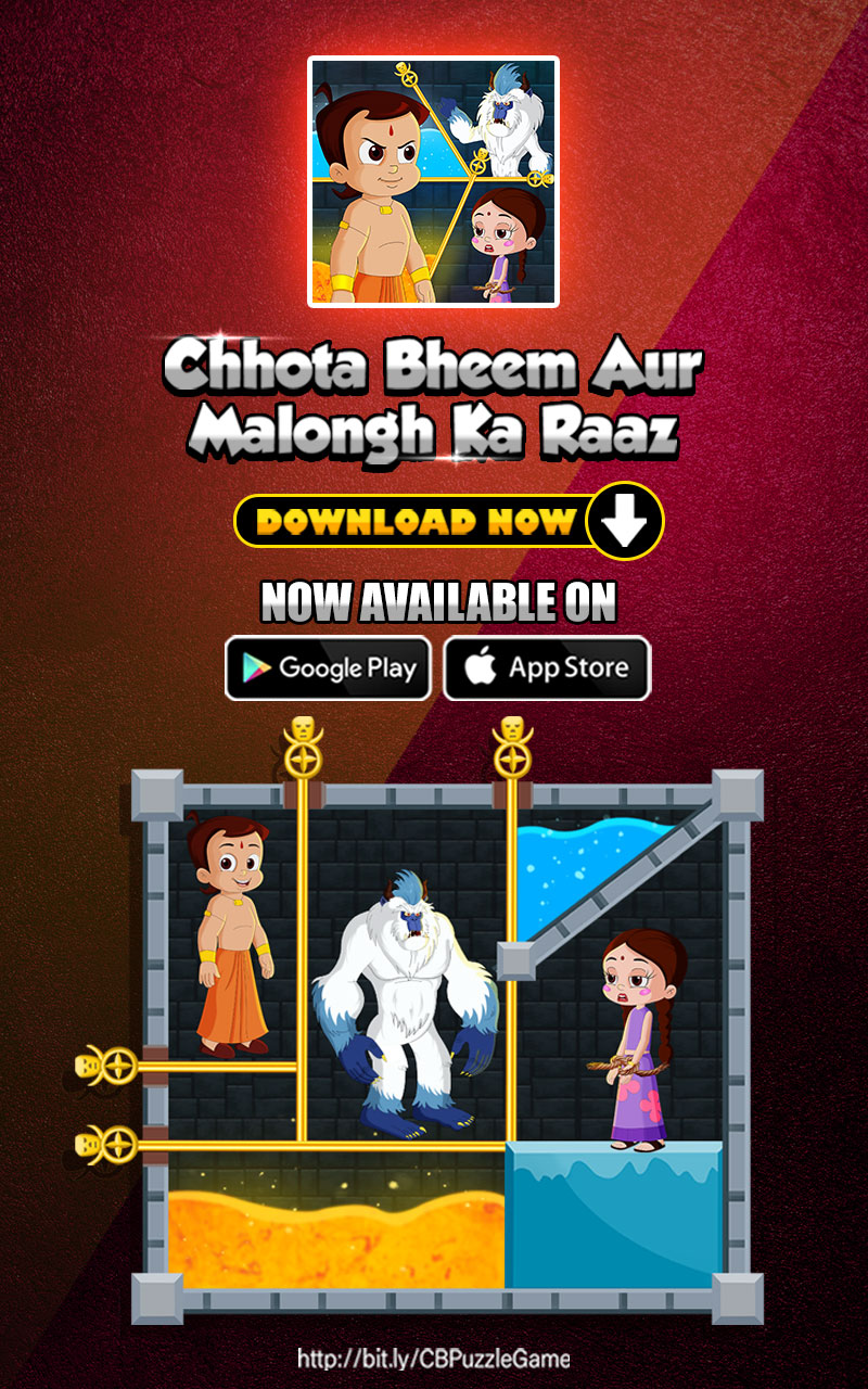 Chhota Bheem Aur Malongh Android IOS Game